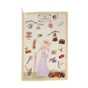 Churchill At Your Leisure Her Ladyship Cotton Tea Towel